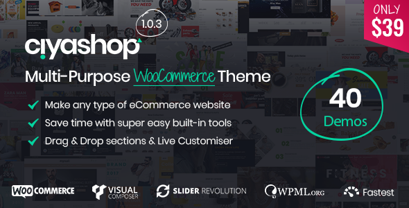 Image of CiyaShop - Responsive Multi-Purpose WooCommerce WordPress Theme