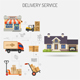 Delivery Service Banner - GraphicRiver Item for Sale