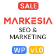 Markesia - Digital Marketing Agency and SEO WordPress Theme
