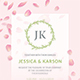 Wedding Invitation Suite - Petals