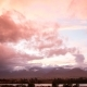 Colorful Clouds Over the Sea Coast at Sunset - VideoHive Item for Sale