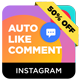 Instagram Auto Like & Comment Modules for Nextpost Instagram - CodeCanyon Item for Sale