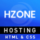Hzone -  Modern Clean,Unique Hosting HTML5 Template - ThemeForest Item for Sale