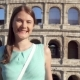 Young Woman Near Famous Attraction Colosseum in Rome, Italy - VideoHive Item for Sale