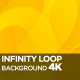 Infinity Loop Background 4K - VideoHive Item for Sale