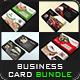 Car, Gym, Spa Business Card Bundle
