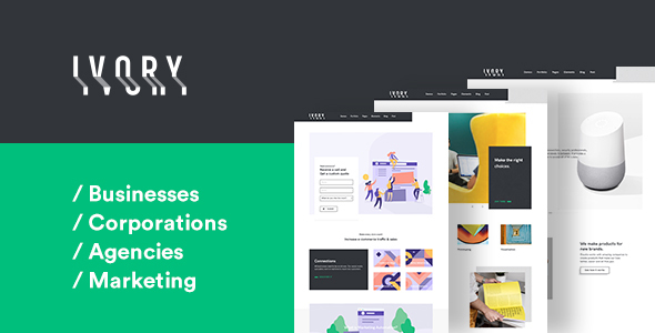 Image of Ivory - Multipurpose HTML5 Template for Everyone