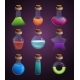 Glass Bottles with Various Liquids - GraphicRiver Item for Sale