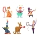 Circus Cartoon Characters - GraphicRiver Item for Sale
