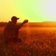 Soil, Farmer Exam Ground at Sunset - VideoHive Item for Sale