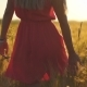 Young Woman Walking in Wheat Field on Sunset - VideoHive Item for Sale