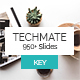 Techmate StartUp Keynote Template - GraphicRiver Item for Sale