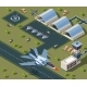 Military Airport Isometric