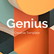 Genius Premium Powerpoint Template - GraphicRiver Item for Sale