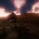 Aerial Green Hills Landscape in Fog - VideoHive Item for Sale