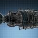 Loop Rotate Jet Engine Turbine - VideoHive Item for Sale