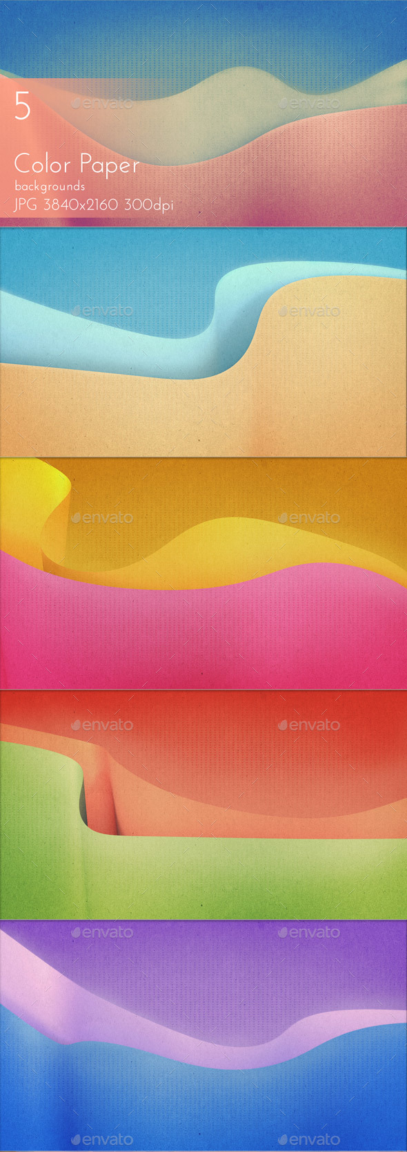 Color Paper - Abstract Backgrounds