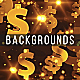 Gold Dollars Backgrounds - GraphicRiver Item for Sale