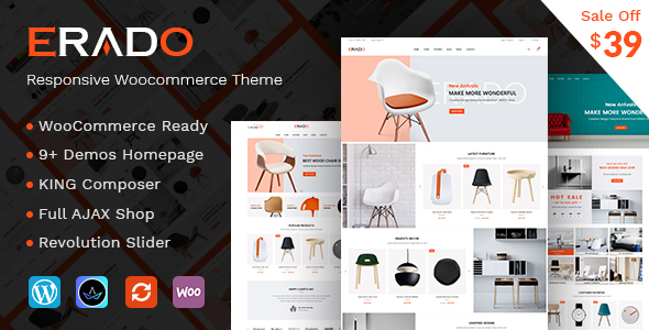 Image of Erado - eCommerce WordPress Theme