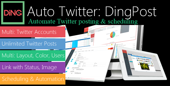 Module Auto Post to Twitter for DingPost            Nulled