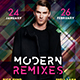 Modern Remixes Flyer - GraphicRiver Item for Sale
