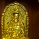 Golden Statue Inside of the Kek Lok Si Buddhist Temple on Penang Island, Malaysia - VideoHive Item for Sale