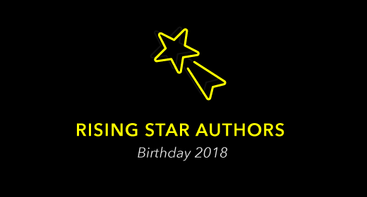 Rising Star Authors - Bday 2018
