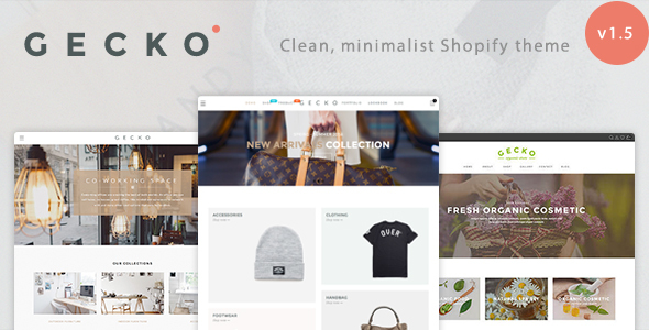 Image of Gecko - Responsive Shopify Theme