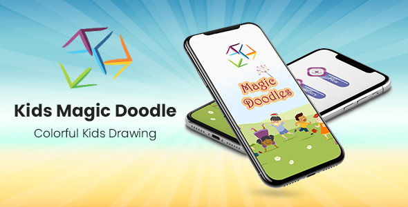 Kids Magic Doodles - Colorful Kids Drawing            Nulled