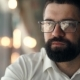 Young Bearded Man with Glasses - VideoHive Item for Sale