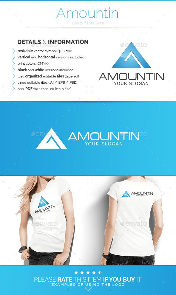 Amountin - Logo Template - Letters Logo Templates