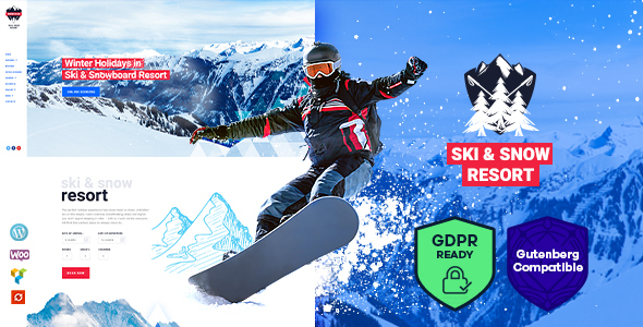 Snow Club | Ski Resort and Snowboard Classes WordPress Theme - Travel Retail