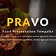 Pravo Food Multipurpose Keynote Template - GraphicRiver Item for Sale