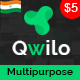 Qwilo - Multi-purpose Responsive HTML5 Template - ThemeForest Item for Sale