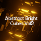 Abstract Bright Cubes Vol2 - GraphicRiver Item for Sale