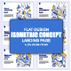 Flat Design Isometric Concepts