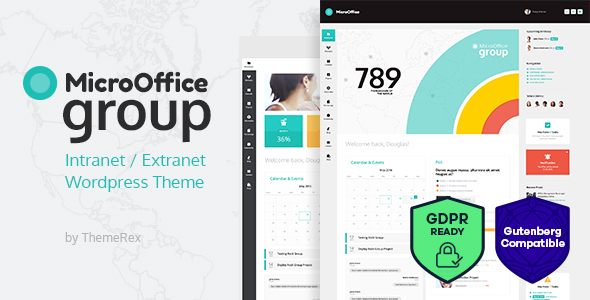 Micro Office | Extranet & Intranet WordPress Theme - Directory & Listings Corporate