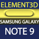 Element3D - Samsung Galaxy Note 9 Collection