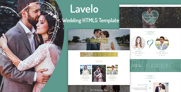 Lavelo - Wedding HTML5 Template