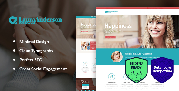 Psychologist | Therapy and Counseling WordPress Theme - Health & Beauty Retail