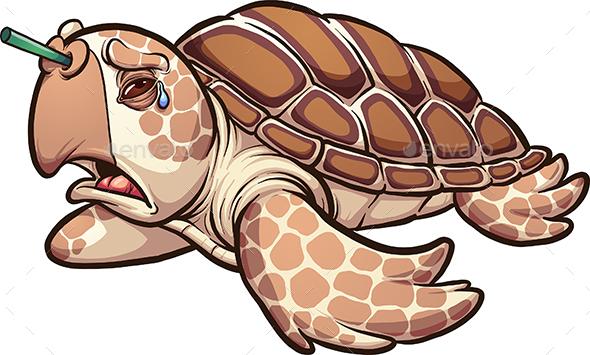 Sea Turtle - Animals Characters