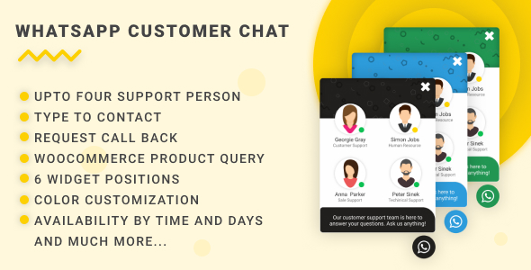 WhatsApp Customer Chat            Nulled