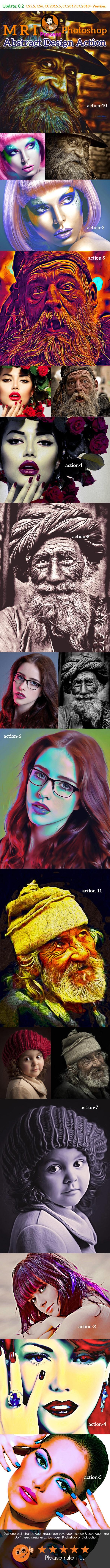 Oil Art Action - Actions Photoshop