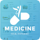 Modern Medicine and Healthcare Google Slide Template - GraphicRiver Item for Sale