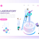 Health and Beauty Laboratory Banner - GraphicRiver Item for Sale