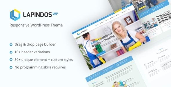 Lapindos - Responsive WordPress Theme - Business Corporate
