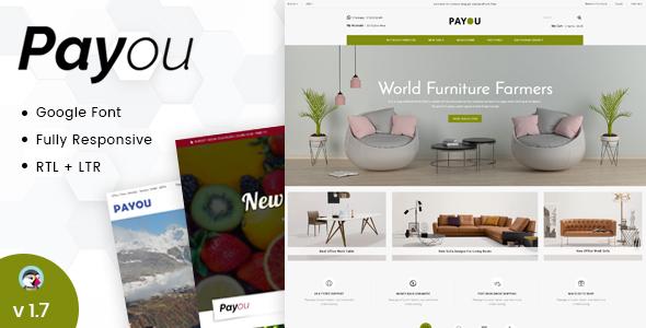 Payou - Responsive Prestashop 1.7 Theme