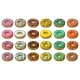 Set of Donuts with Different Icing - GraphicRiver Item for Sale