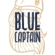Blue Captain Rough Font - GraphicRiver Item for Sale