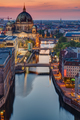 The Spree river in Berlin at sunset - PhotoDune Item for Sale
